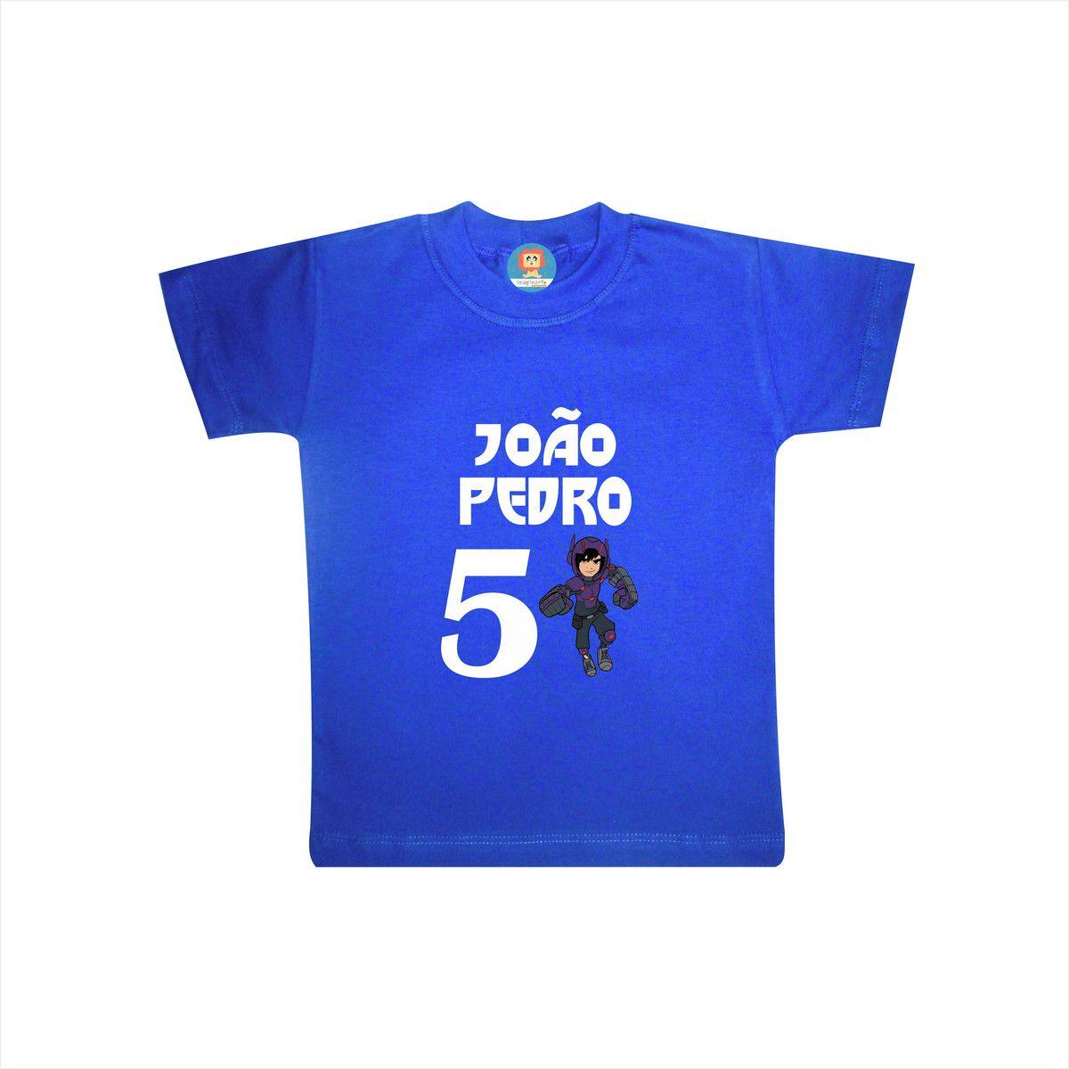 Camiseta de Aniversário Big Hero