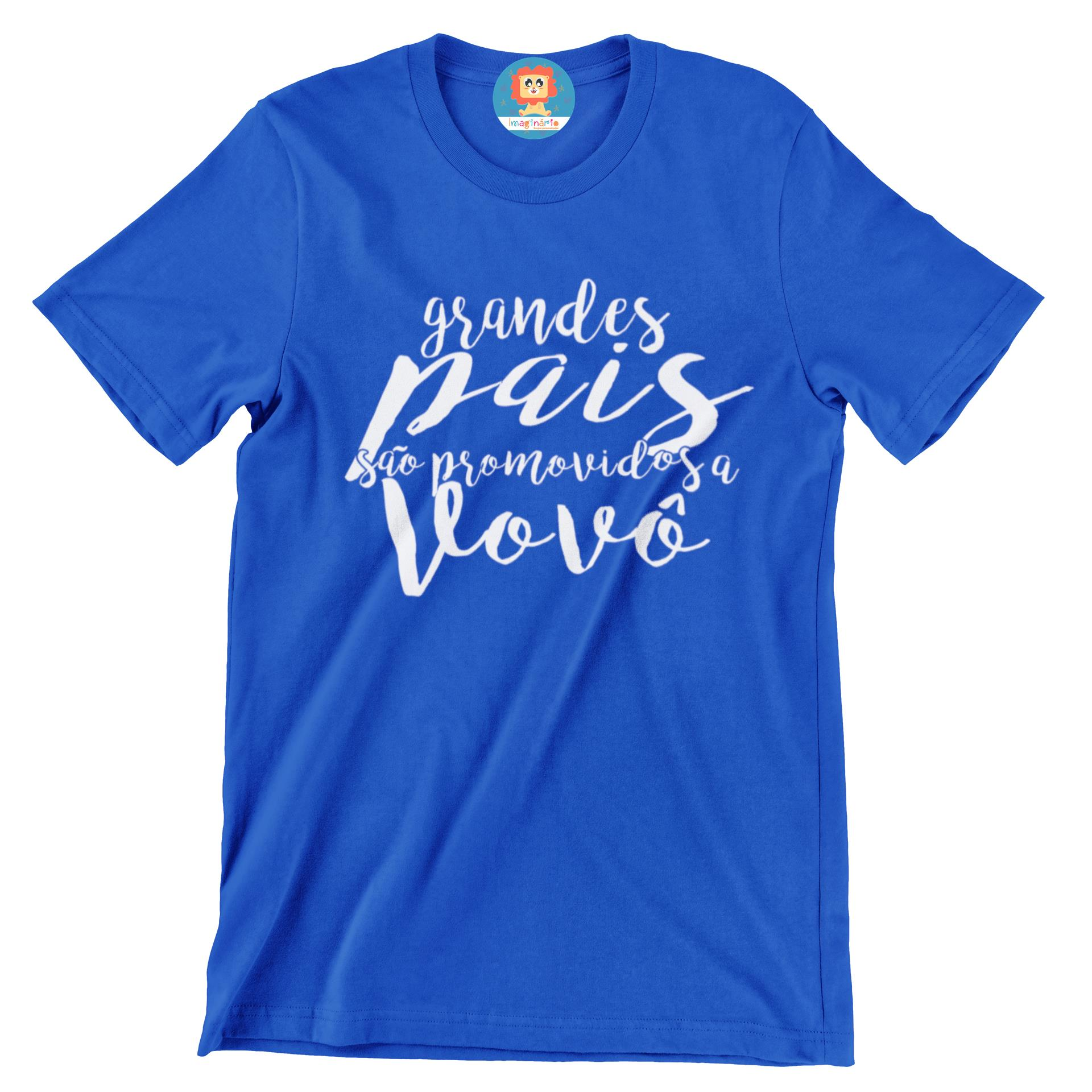 Camiseta Grandes Pais são Promovidos a Vovô