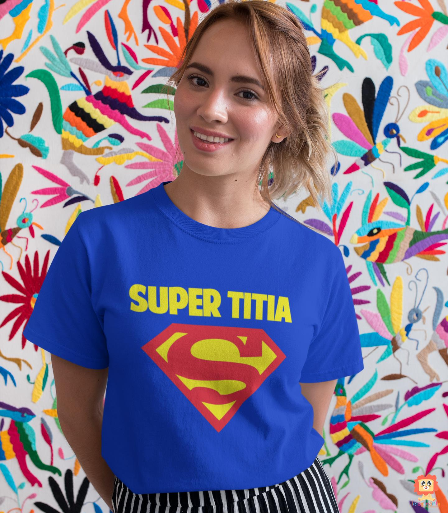 Camiseta Heroina Super Titia
