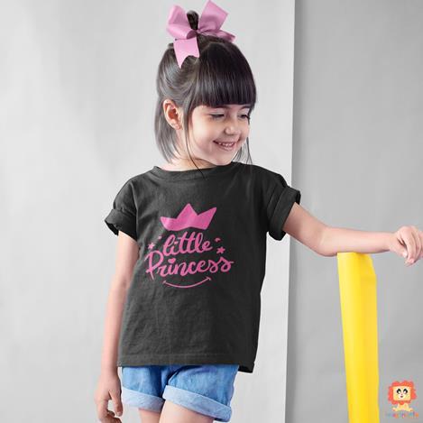 Camiseta Infantil ou Body de Bebê Little Princess