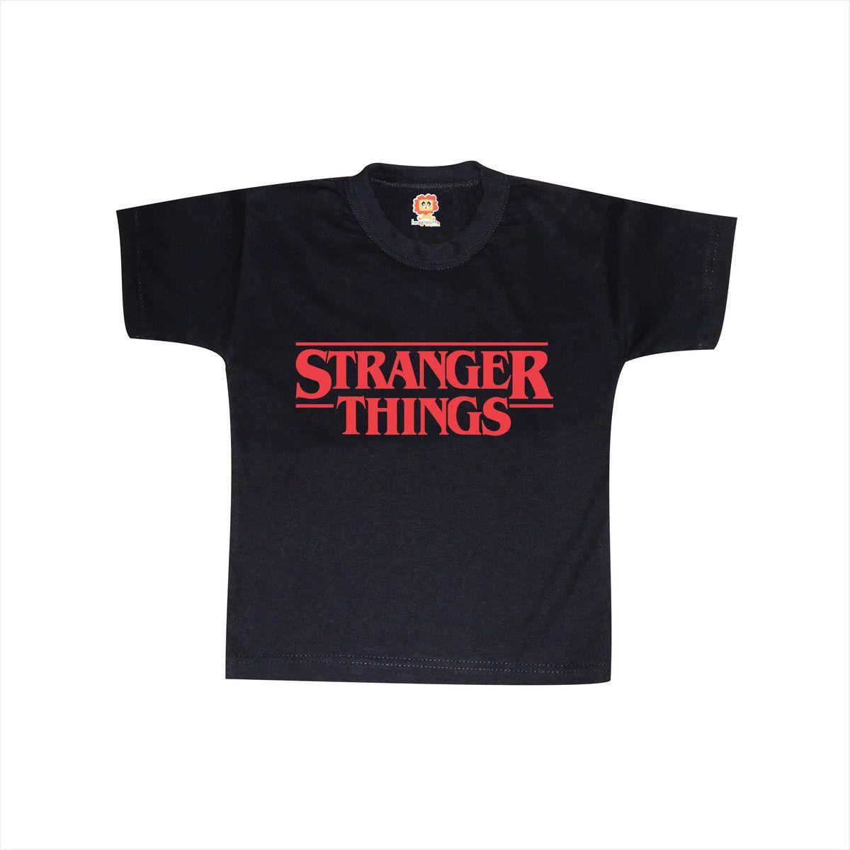 Camiseta Infantil ou Body Stranger Things Série