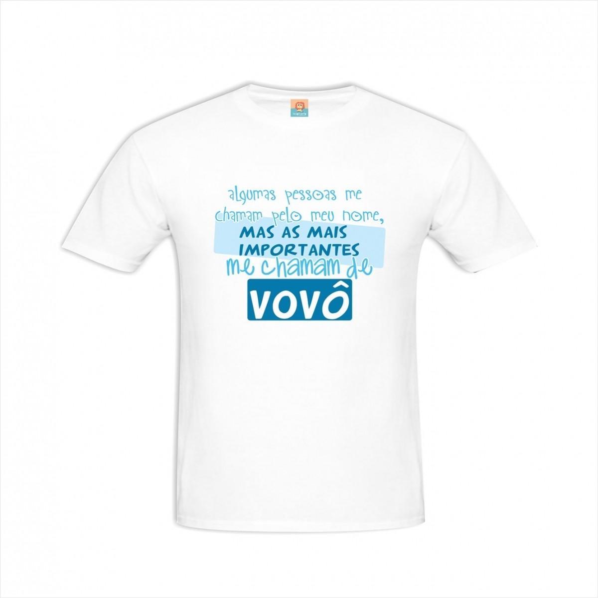 Camiseta Me Chamam de Vovô