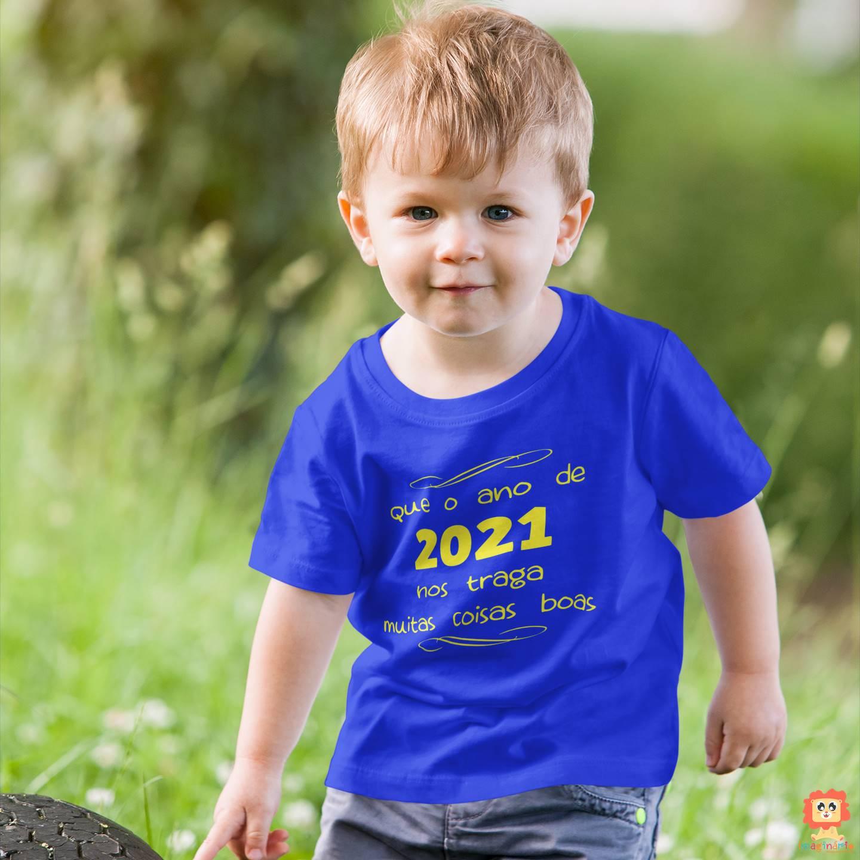 Camiseta ou Body Ano Novo 2021 Coisas Boas