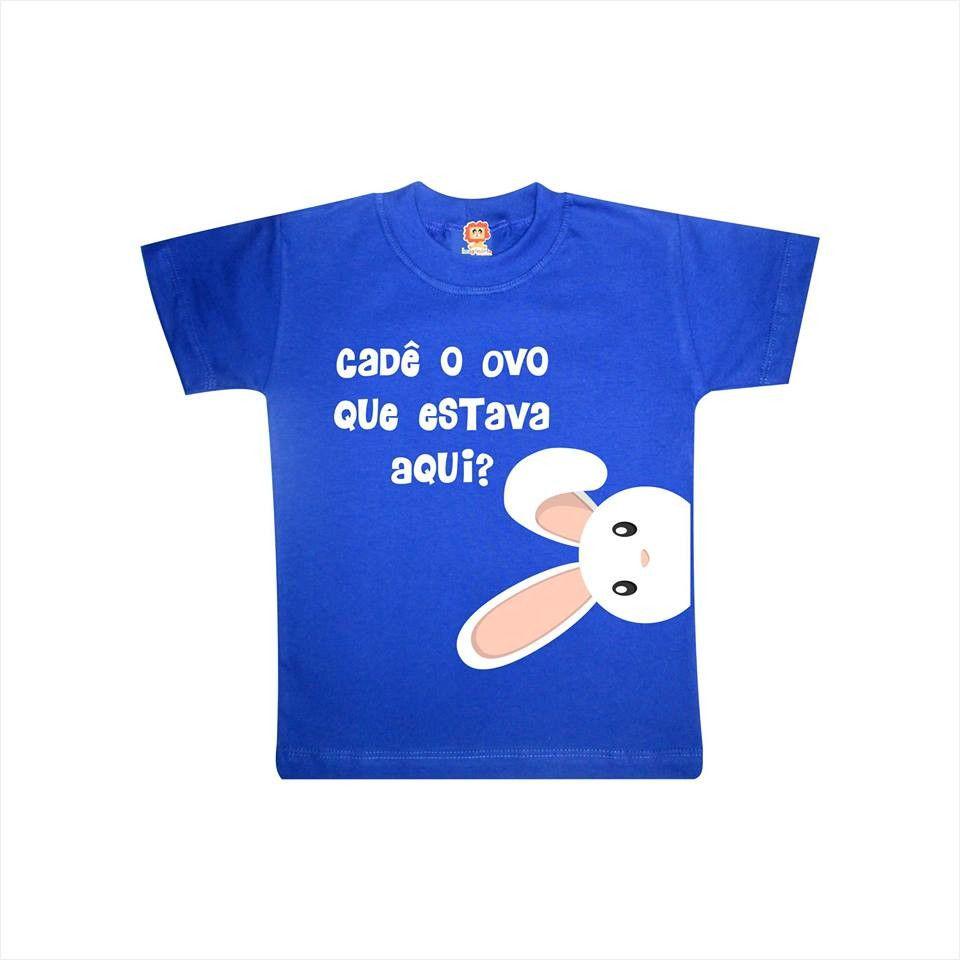 Camiseta ou Body Coelhinho da Páscoa