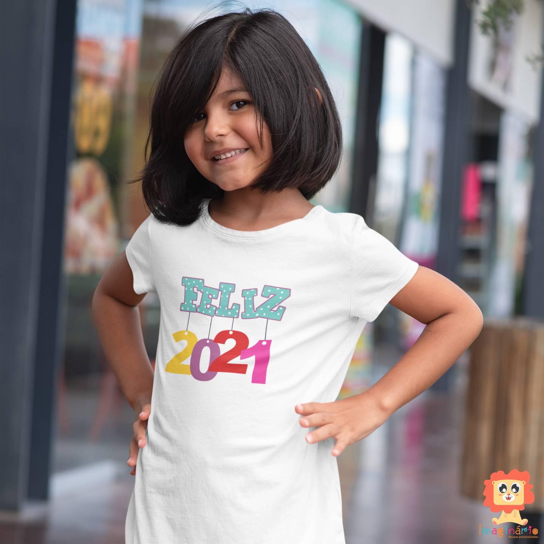 Camiseta ou Body Feliz 2021