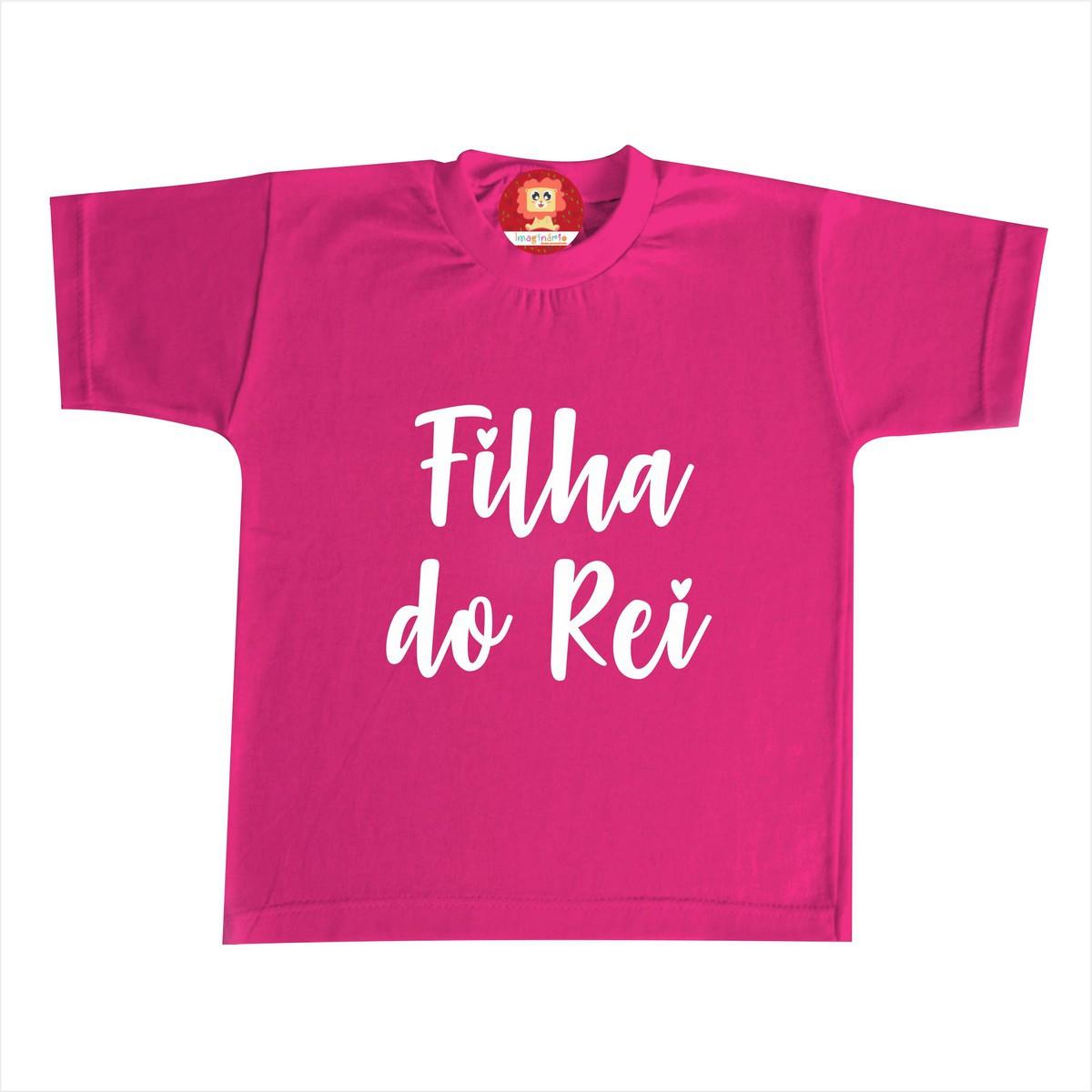 Camiseta ou Body Filha do Rei