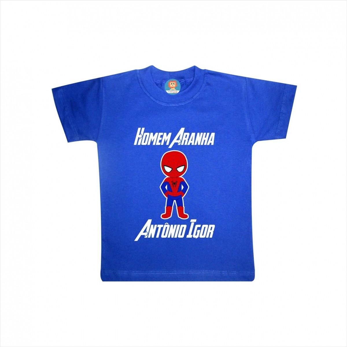 Camiseta ou Body Homem Aranha