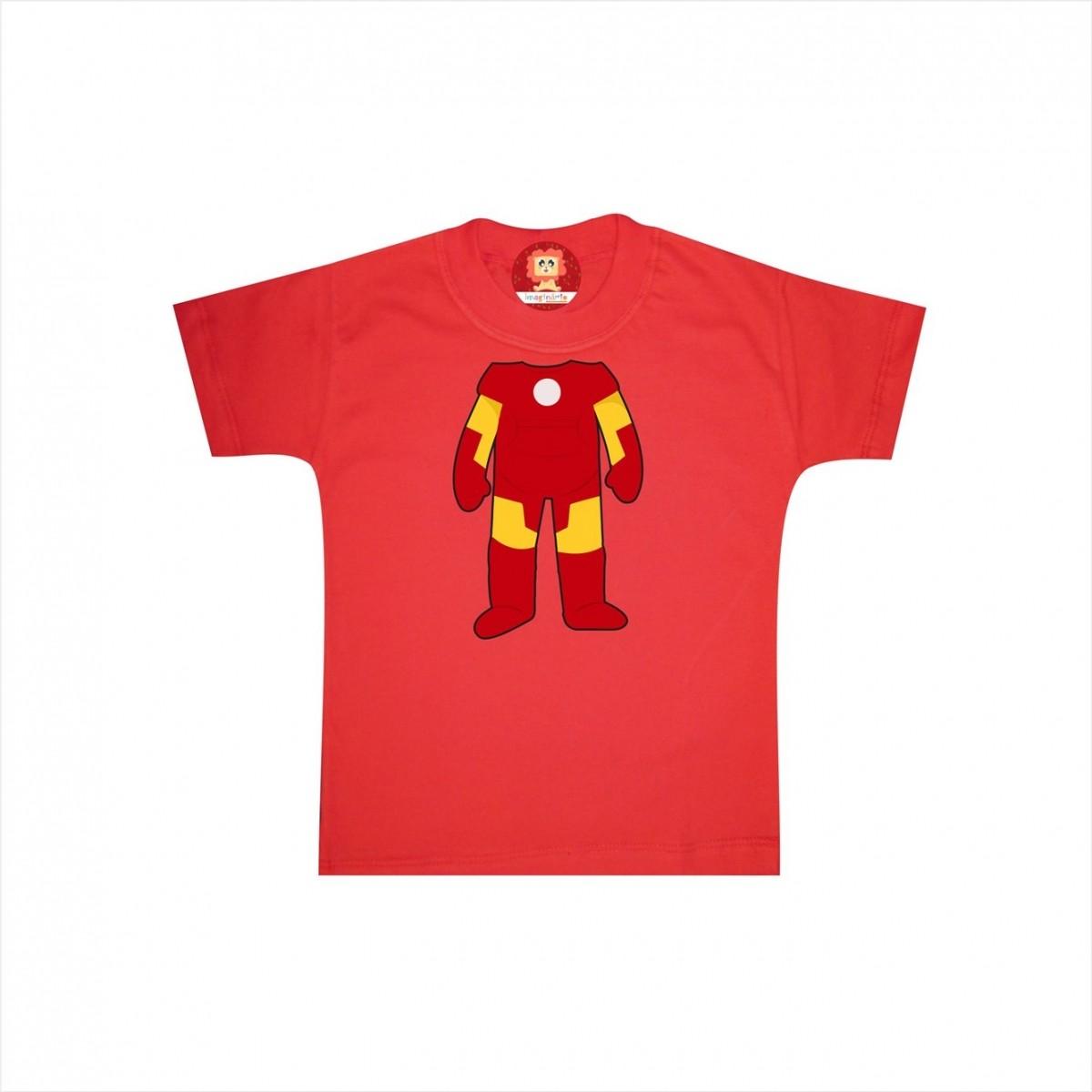 Camiseta ou Body Homem de Ferro