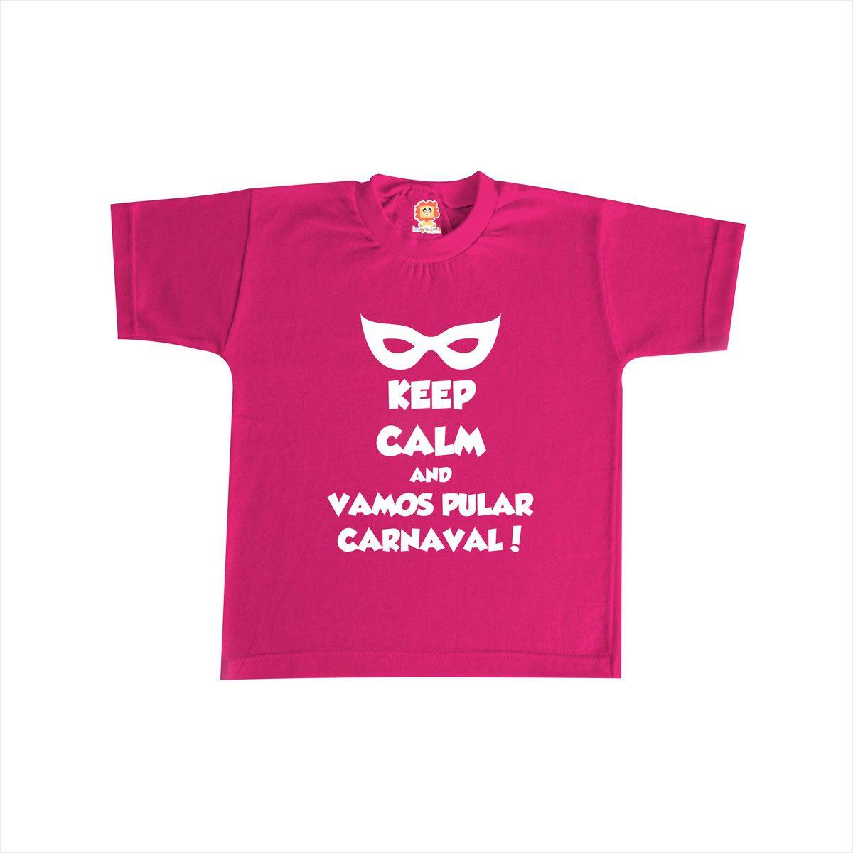 Camiseta ou Body Infantil Carnaval