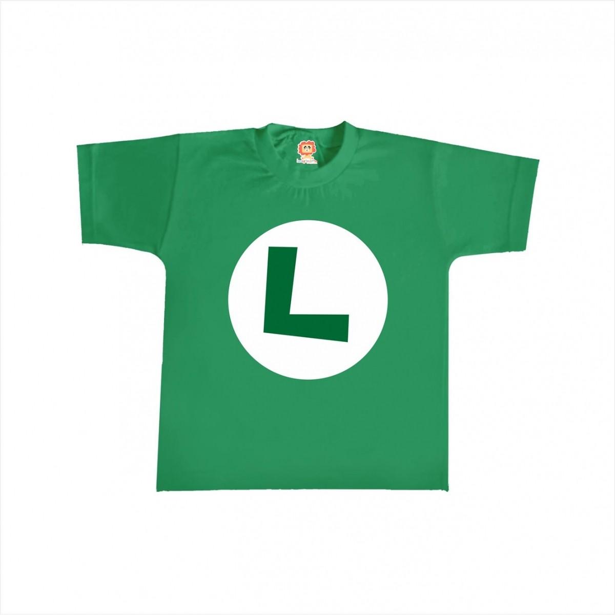 Camiseta ou Body Luigi