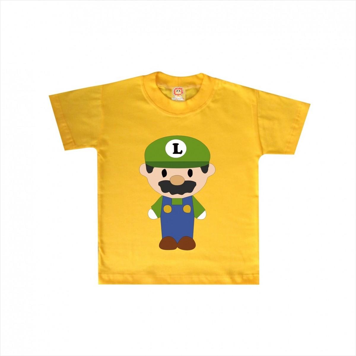 Camiseta ou Body Luigi Cute