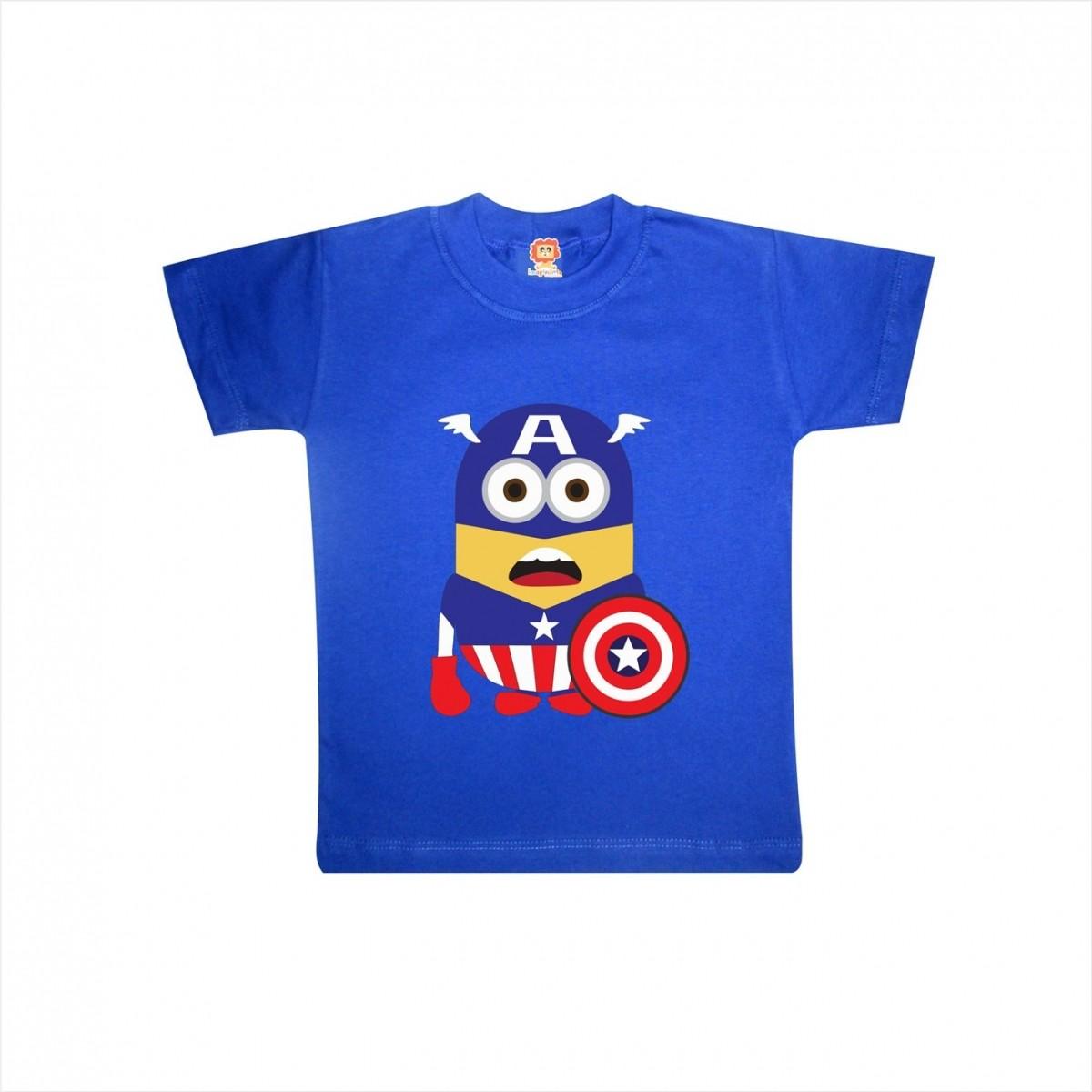 Camiseta ou Body Minions Capitão