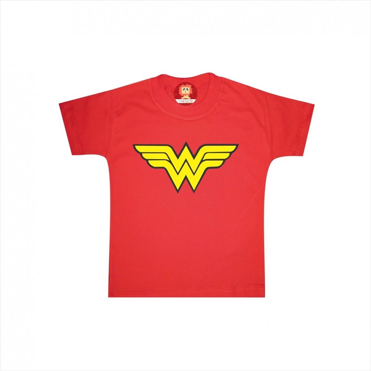 Camiseta ou Body Mulher Maravilha