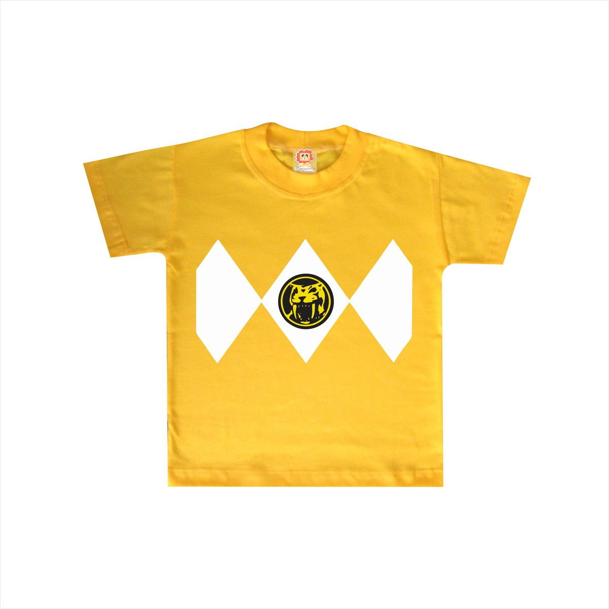Camiseta ou Body Power Ranger Amarelo