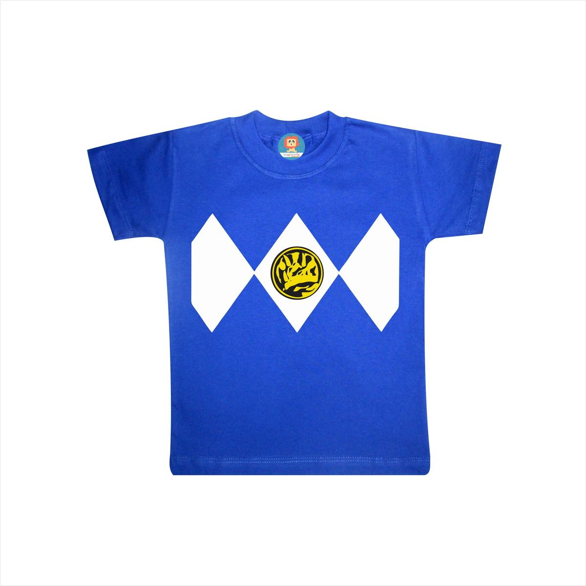 Camiseta ou Body Power Ranger Azul