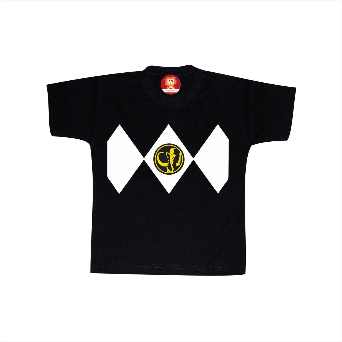Camiseta ou Body Power Ranger Preto