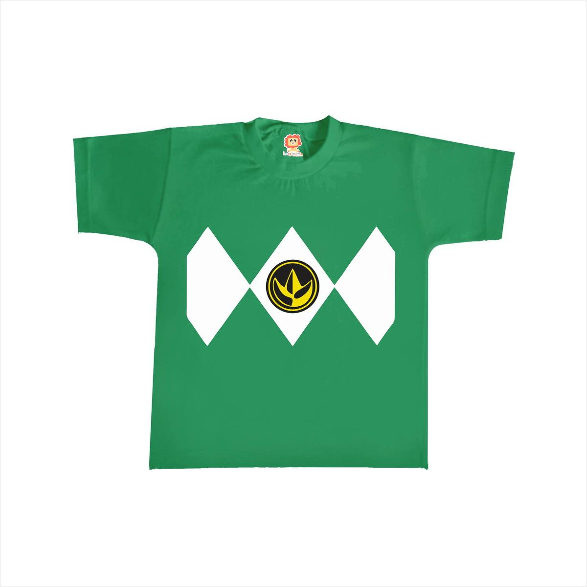 Camiseta ou Body Power Ranger Verde