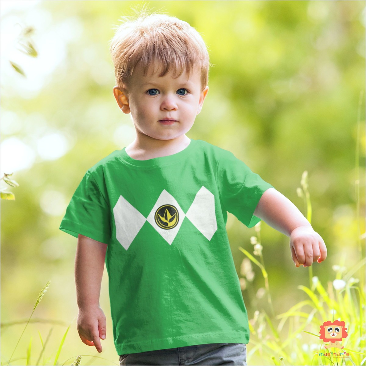 Camiseta ou Body Power Ranger Verde