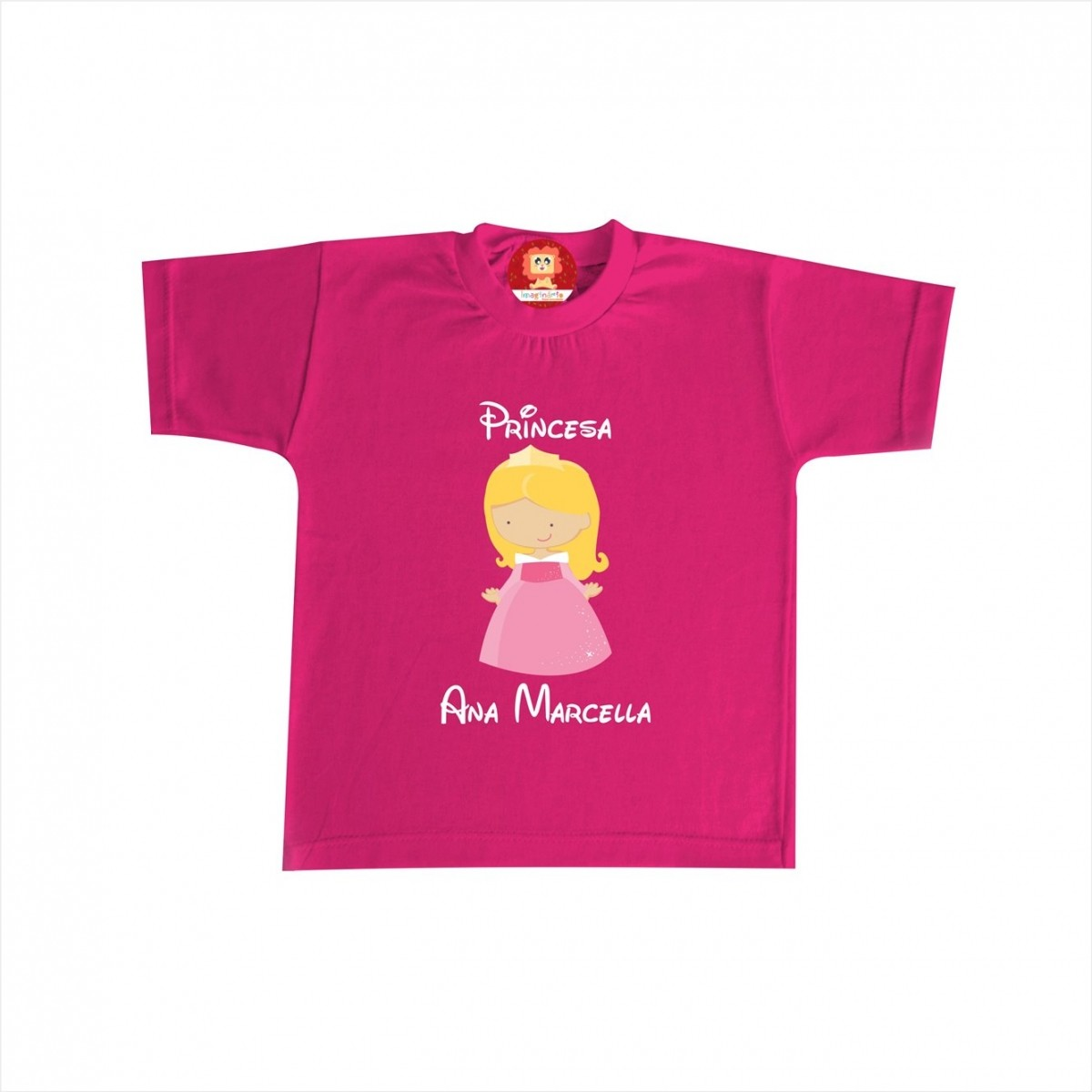 Camiseta ou Body Princesa Aurora