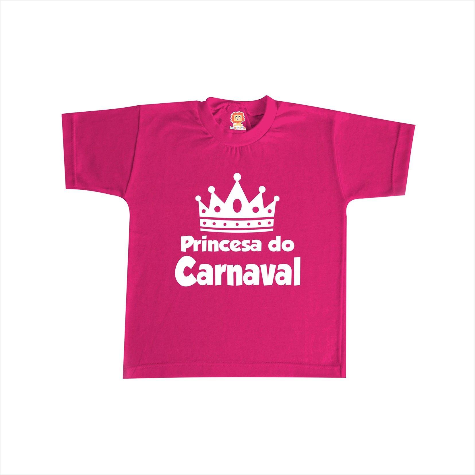 Camiseta ou Body  Princesa do Carnaval