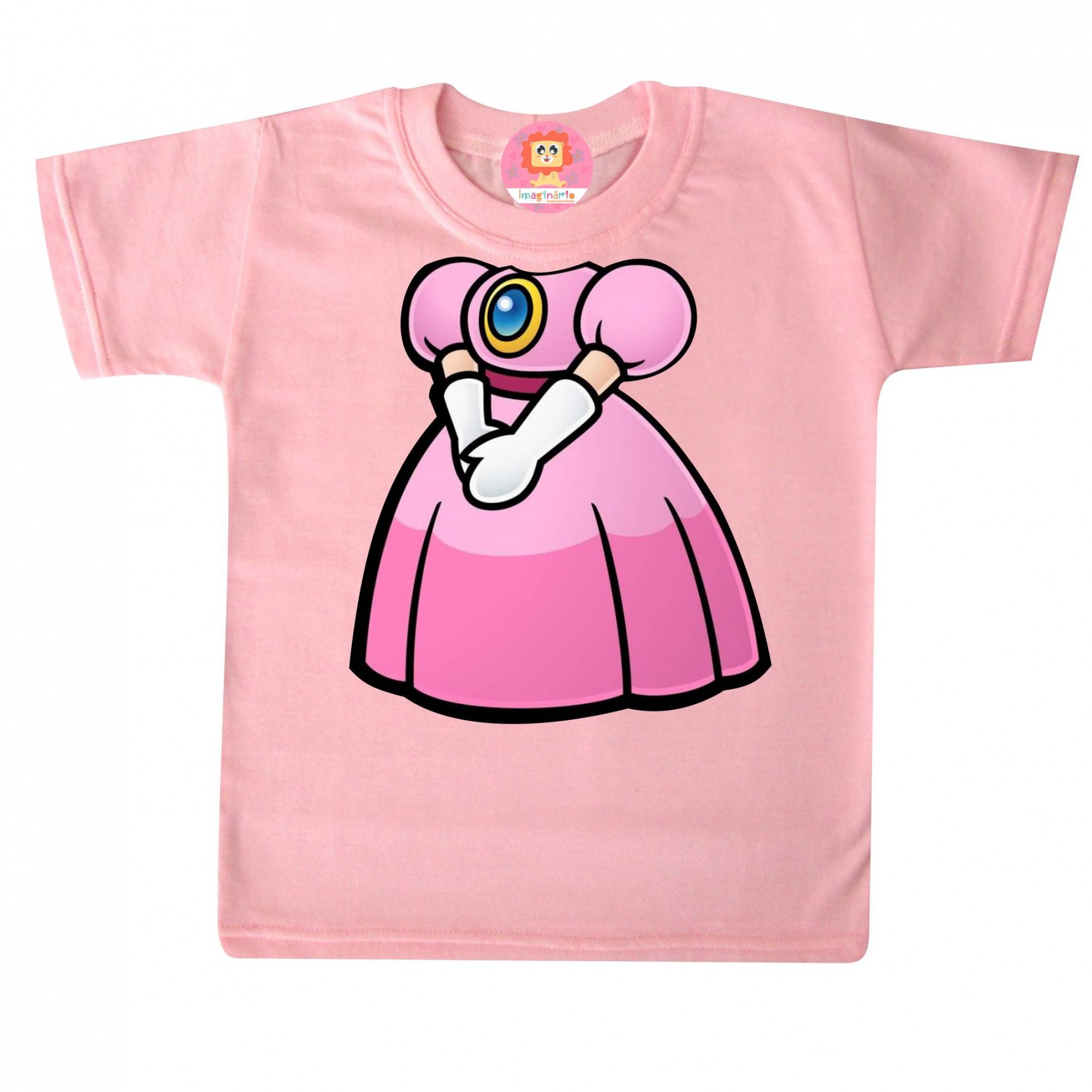 Camiseta ou Body Princesinha do Mario