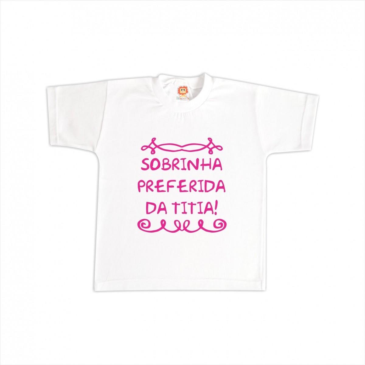Camiseta ou Body Sobrinho(a) Preferido(a)