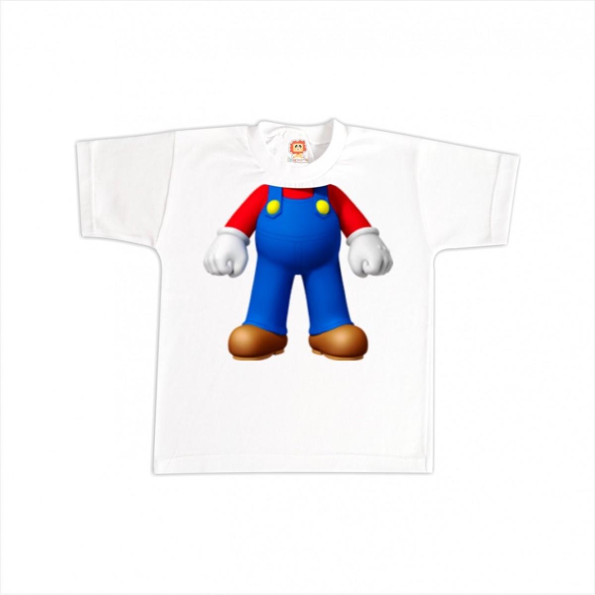 Camiseta ou Body Super Mario Corpinho