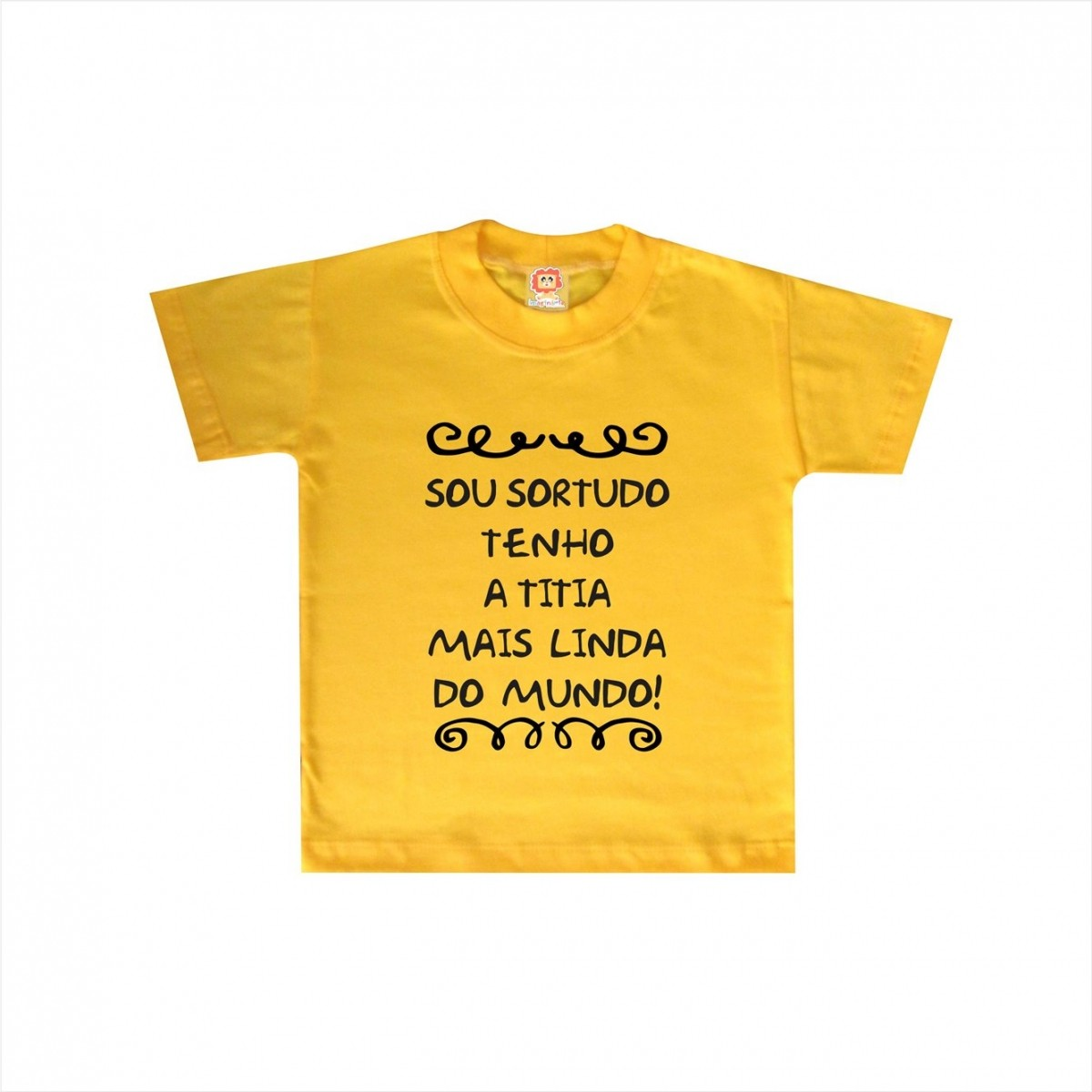 Camiseta ou Body Titia mais Linda
