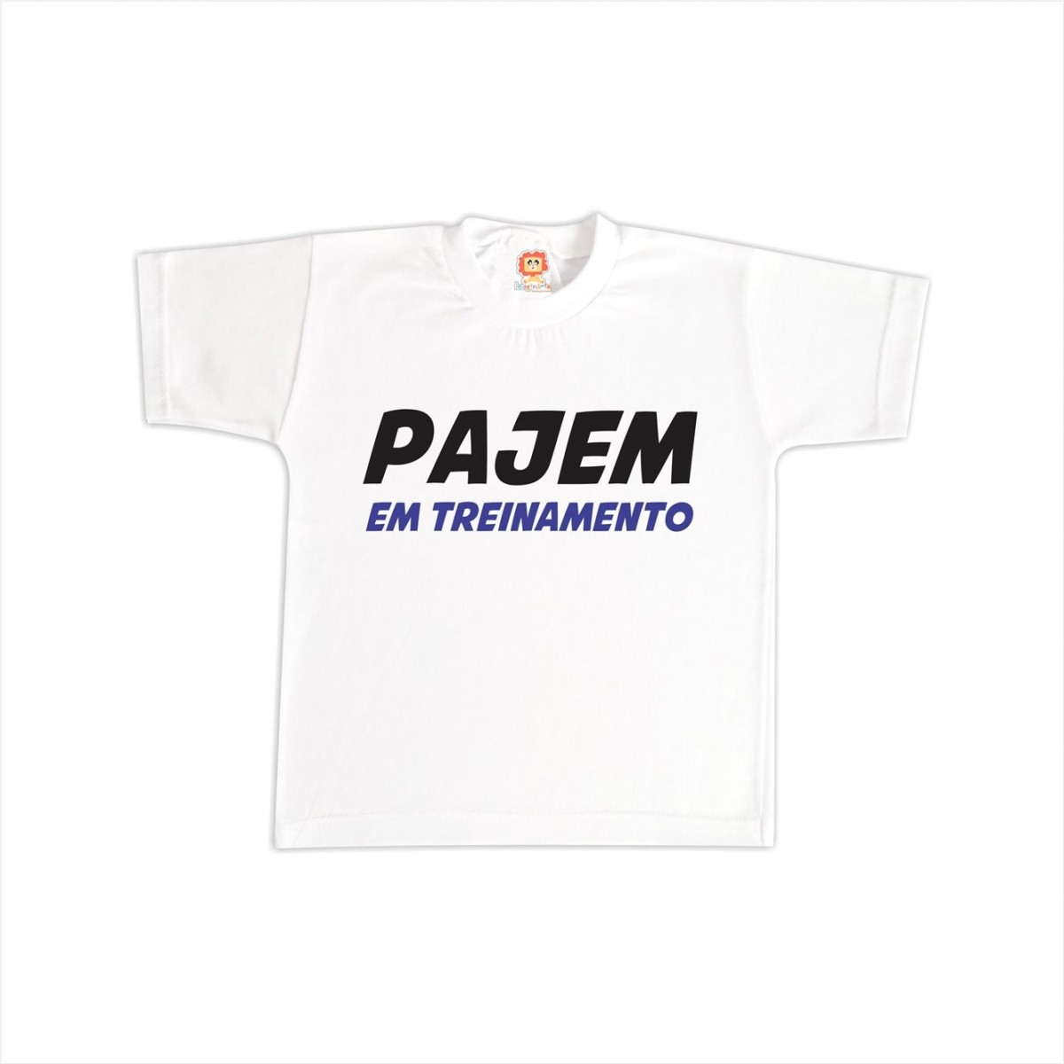 Camiseta Pajem em Treinamento