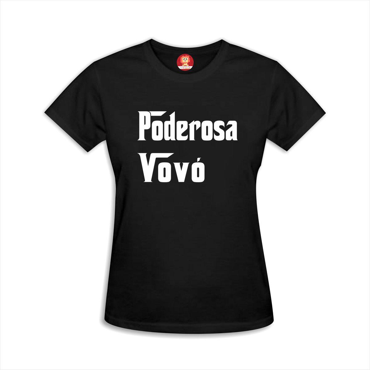 Camiseta Poderosa Vovó