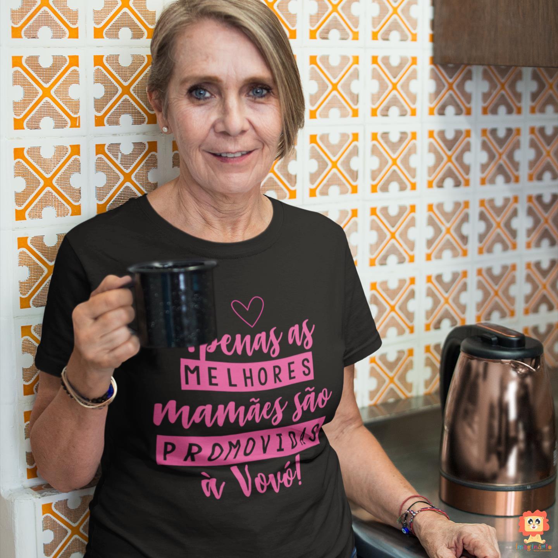 Camiseta Promovida a Vovó