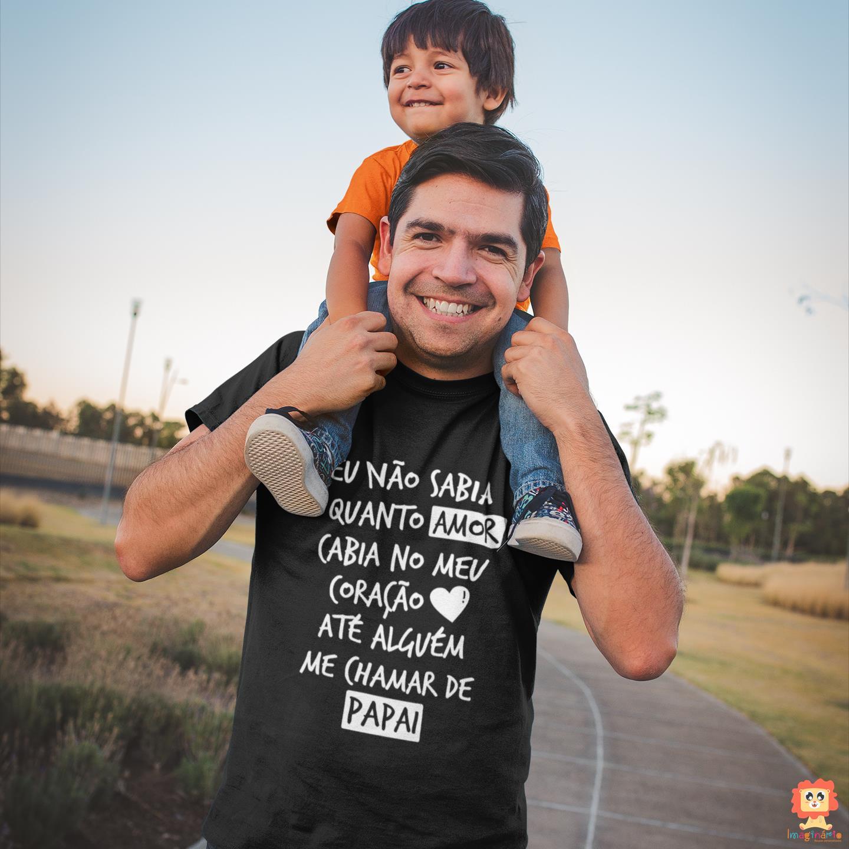 Camiseta Quanro Amor Papai Dia dos Pais