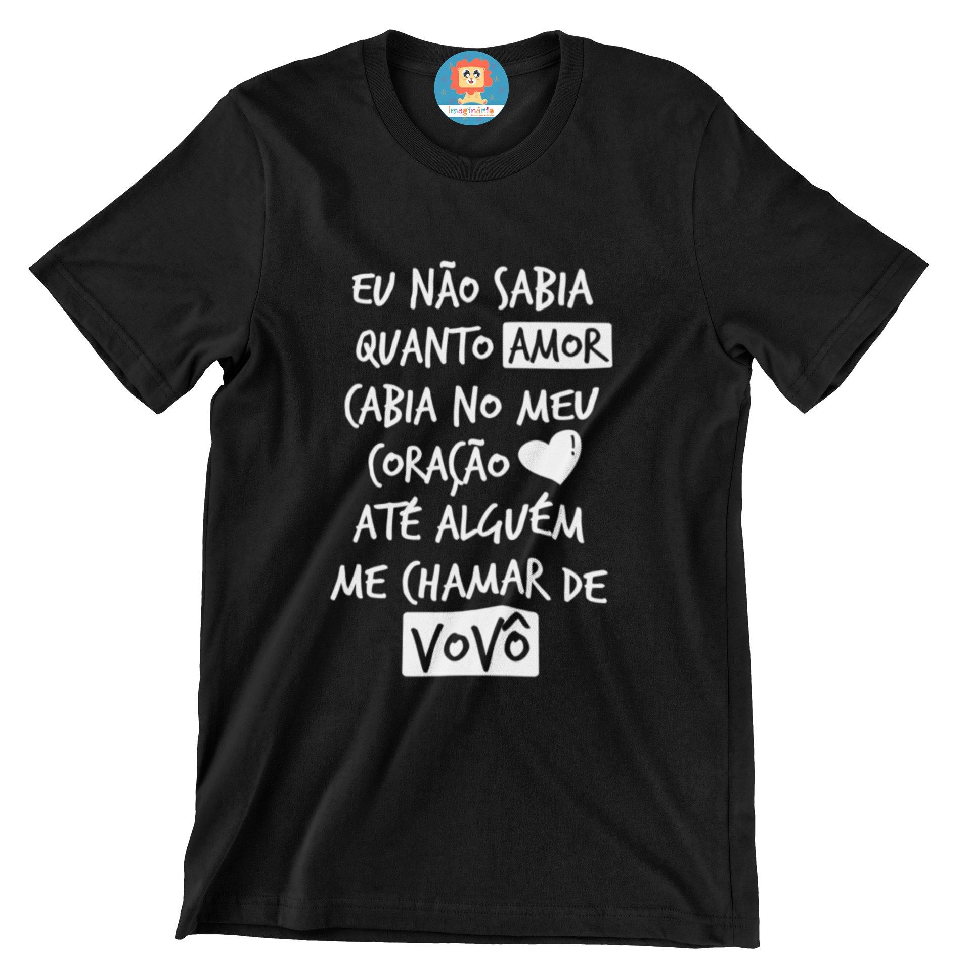 Camiseta Quanto Amor Vovô Dia dos Pais
