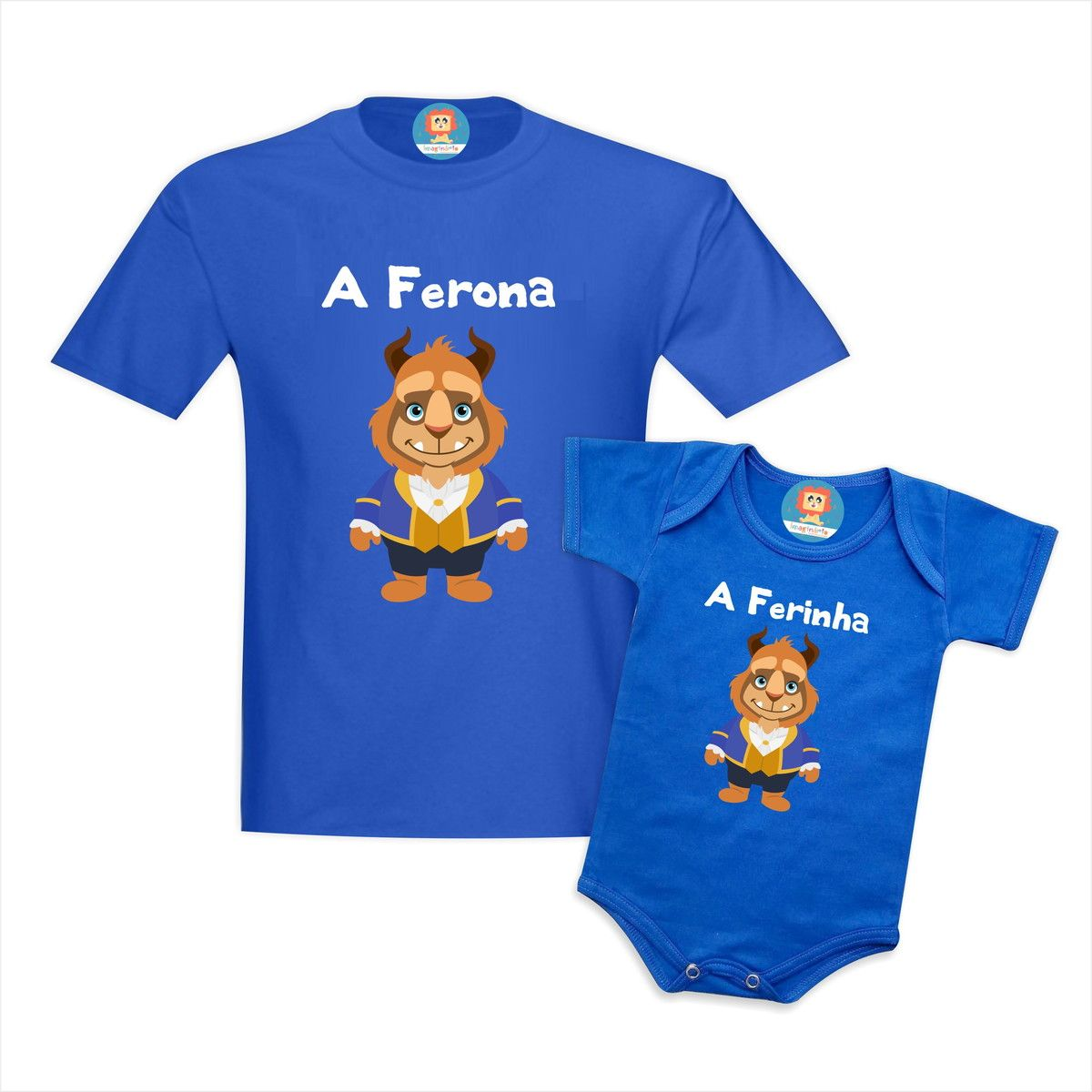 Camiseta Tal Pai Tal Filho Fera e Ferinha