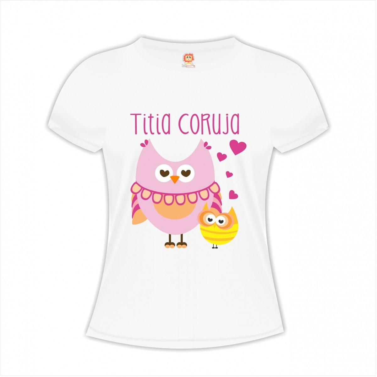 Camiseta Titia Coruja