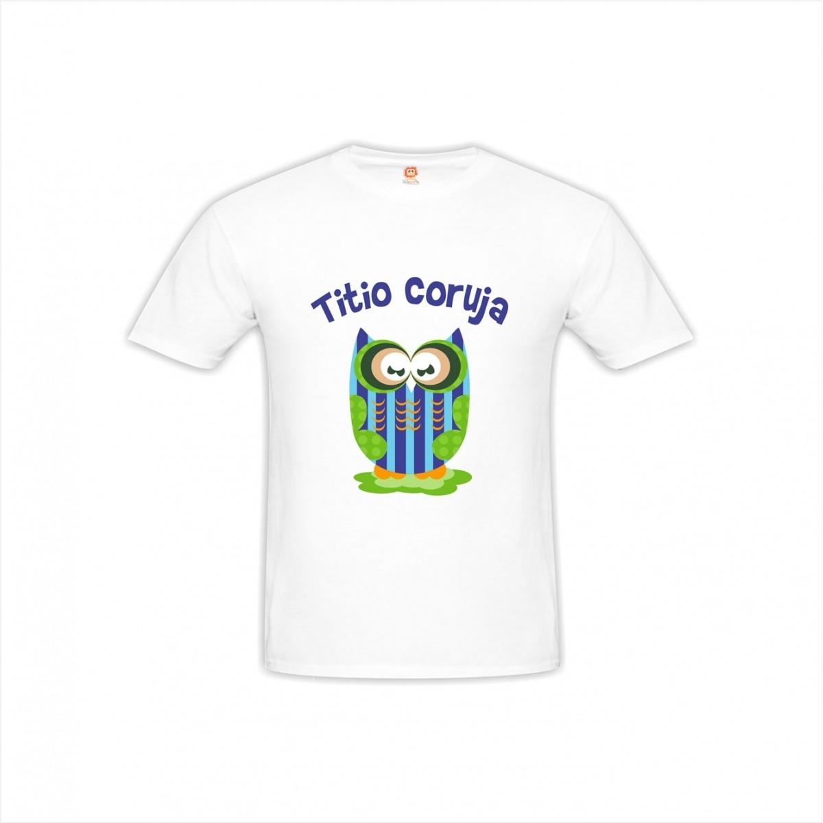 Camiseta Titio Coruja