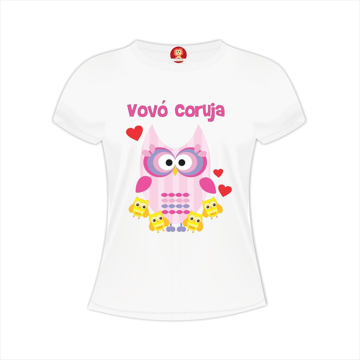 Camiseta Vovó Coruja