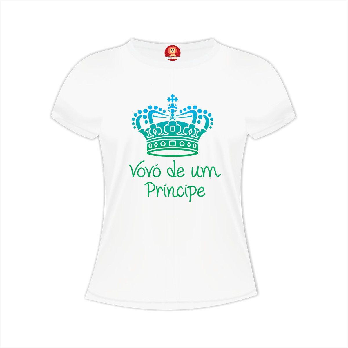 Camiseta Vovó de um Príncipe