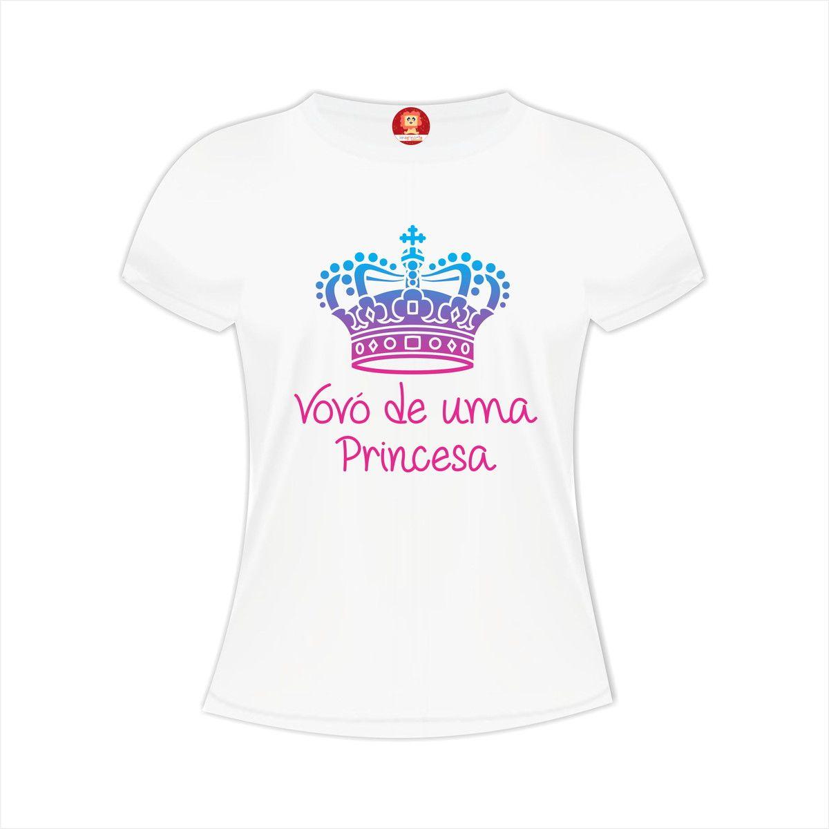 Camiseta Vovó de uma Princesa