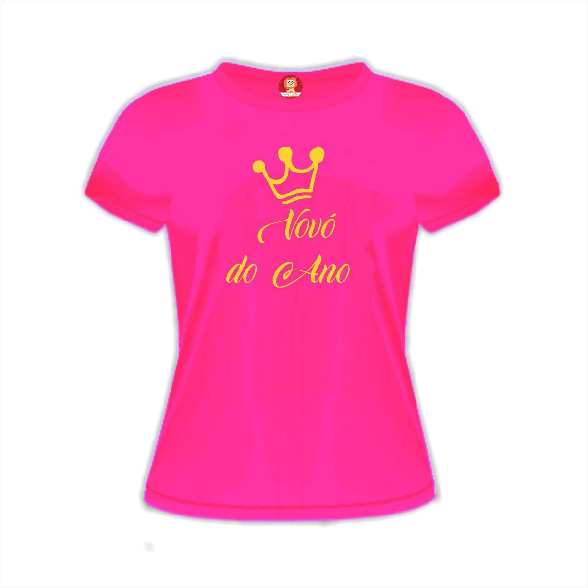 Camiseta Vovó do Ano