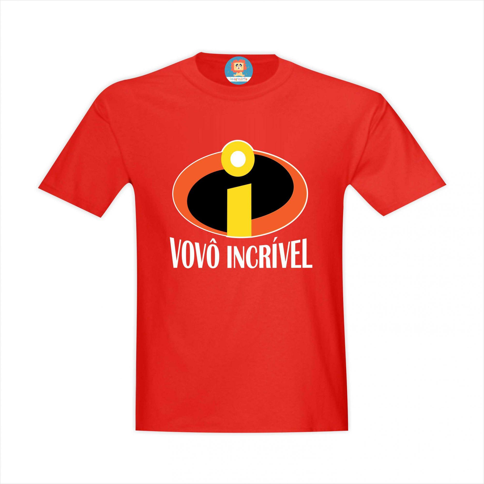 Camiseta Vovô Incrível