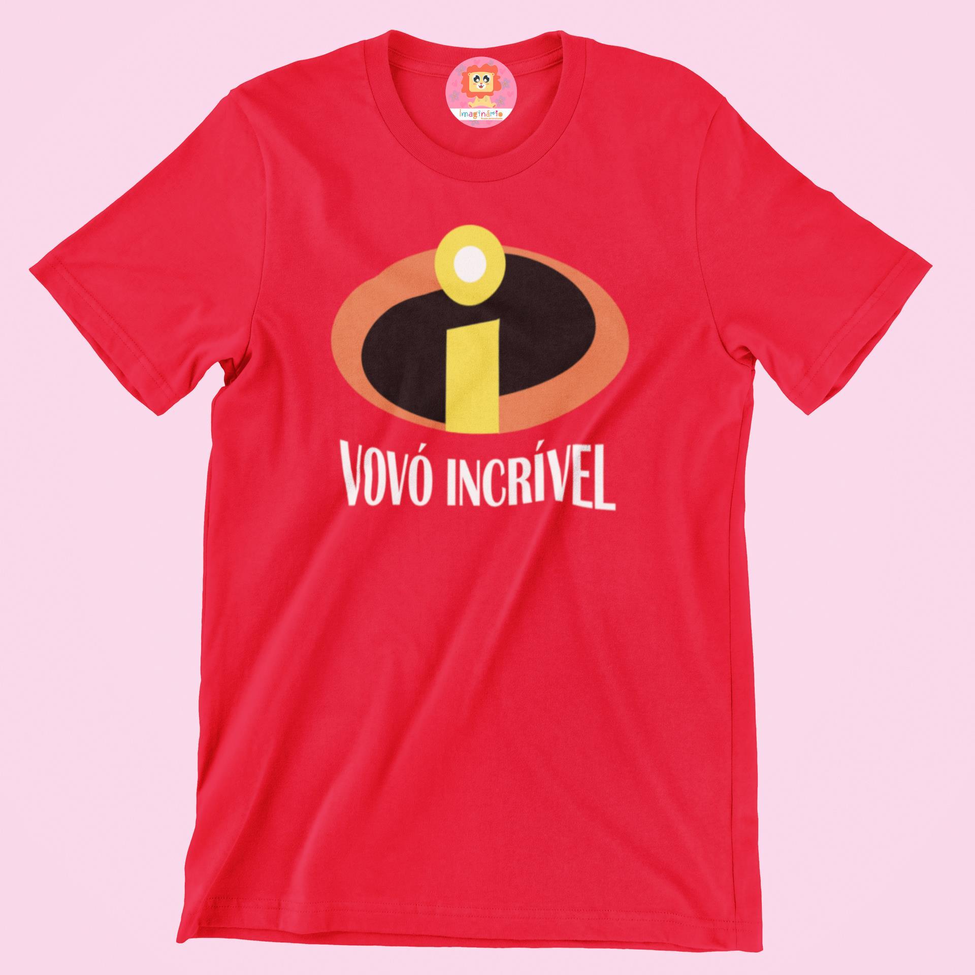 Camiseta Vovó Incrível
