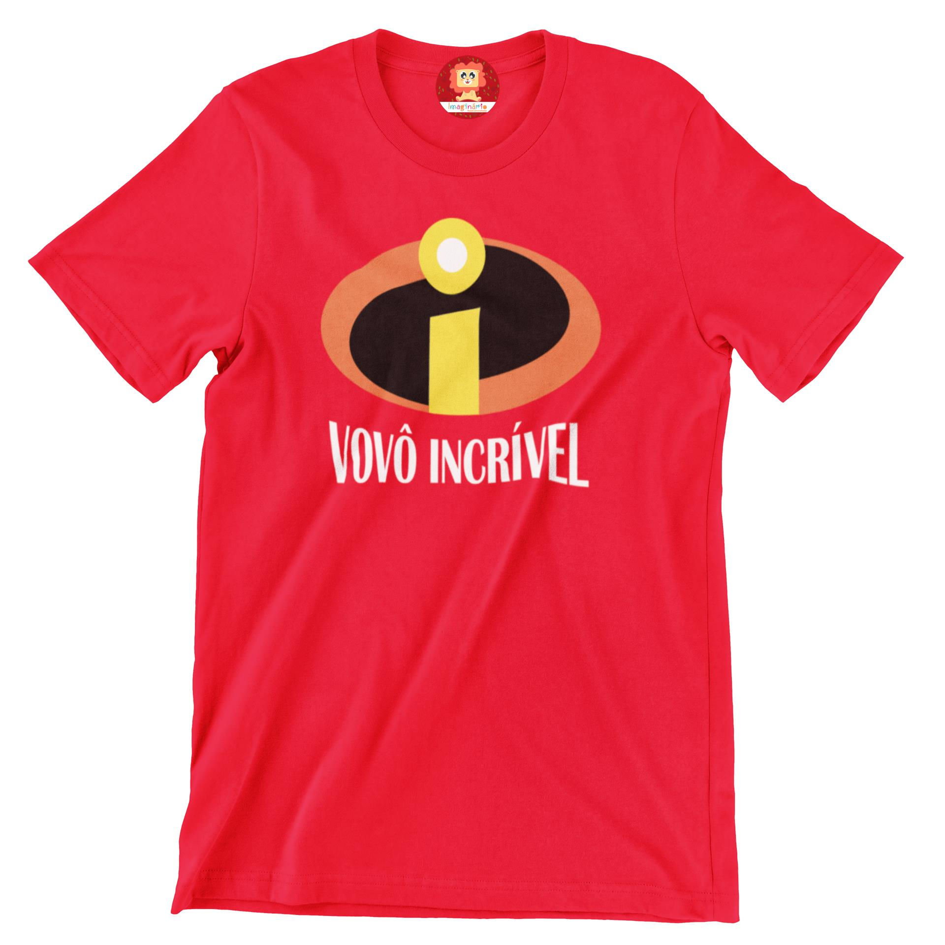 Camiseta Vovô Incrível Dia dos Pais