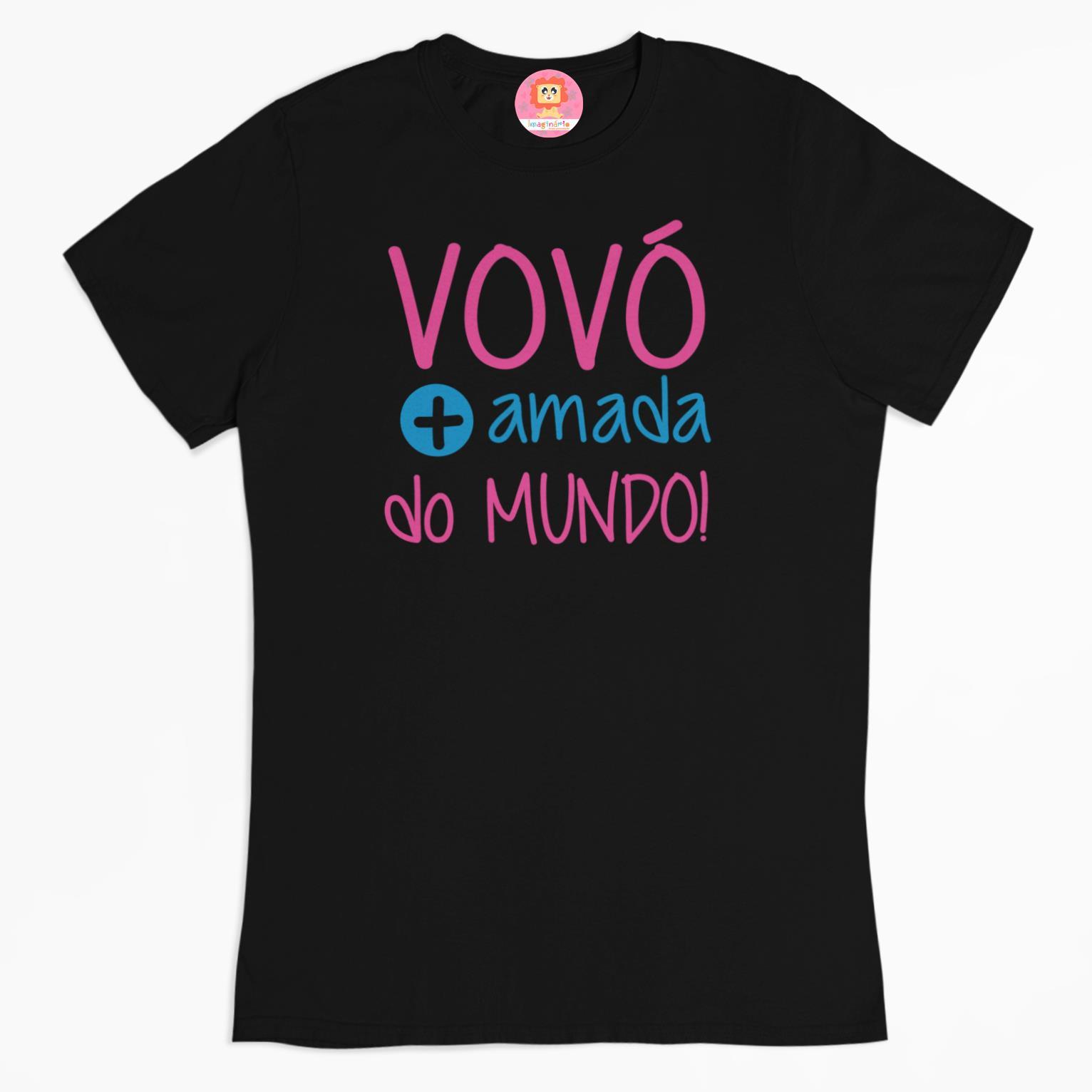Camiseta Vovó Mais Amada do Mundo