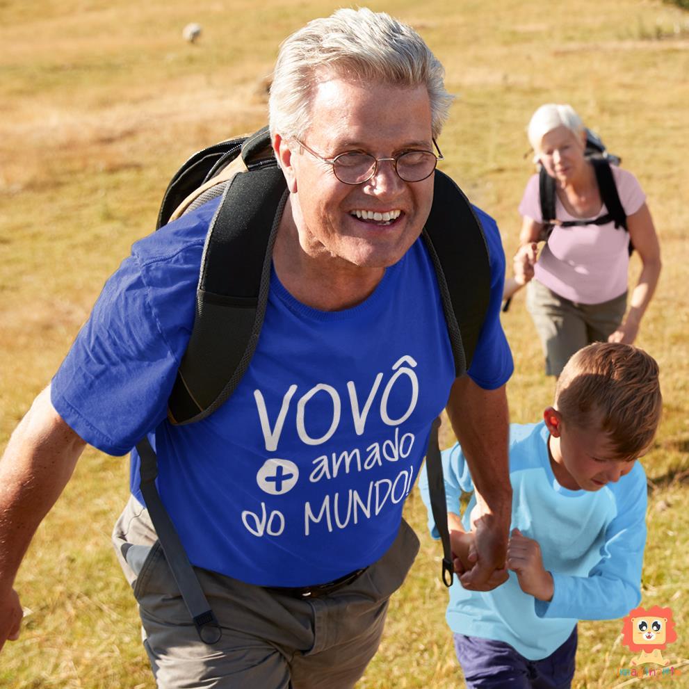 Camiseta Vovô Mais Amado do Mundo