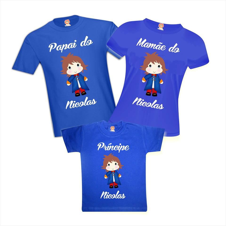Camisetas Aniversário Personalizadas O Pequeno Príncipe