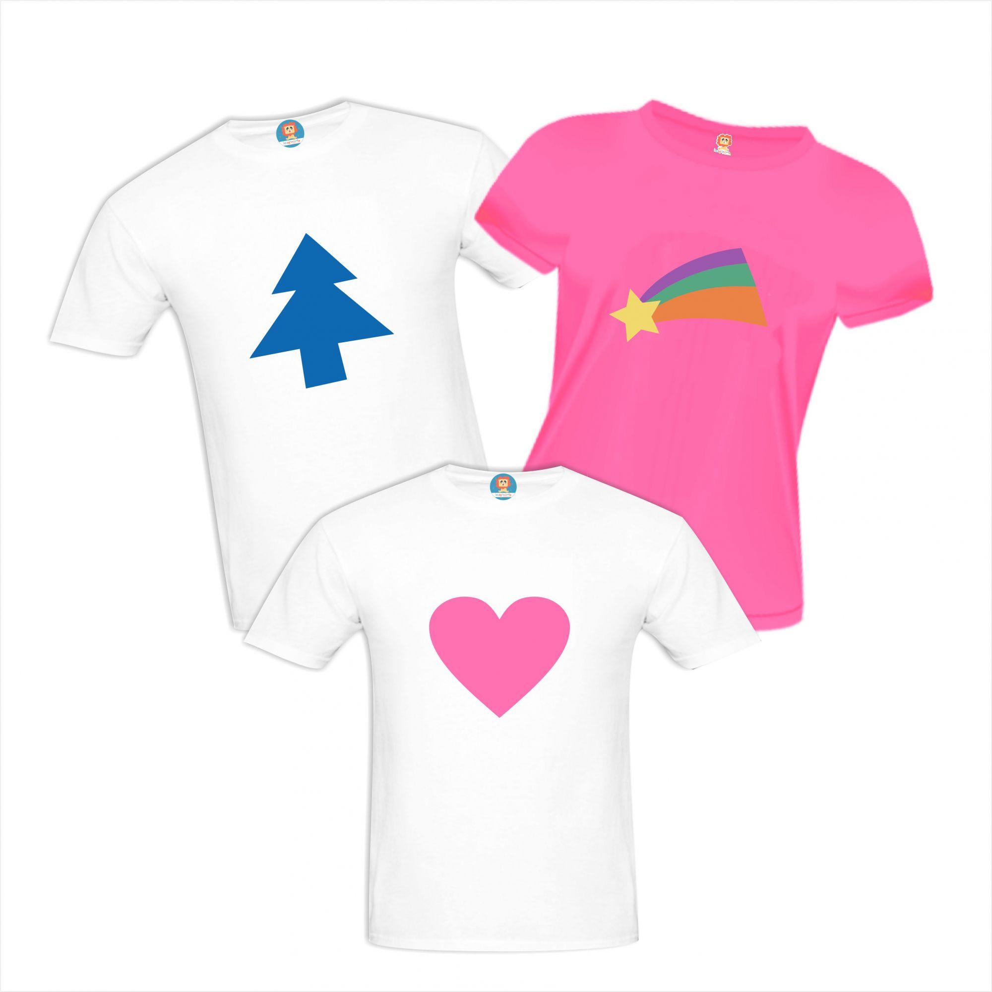 Camisetas de Aniversário Gravity Falls