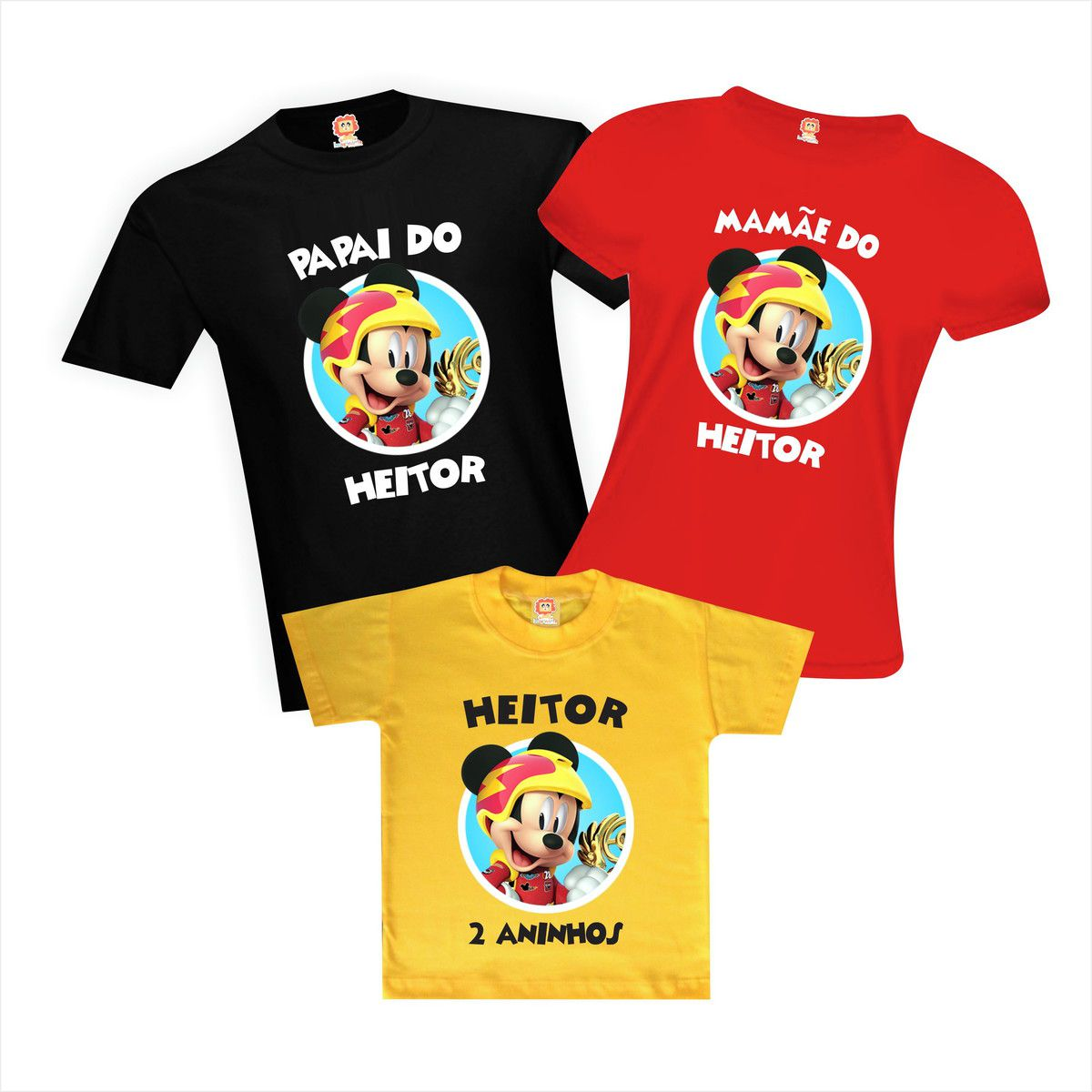 Camisetas de Aniversário Mickey Aventura Sobre Rodas Disney