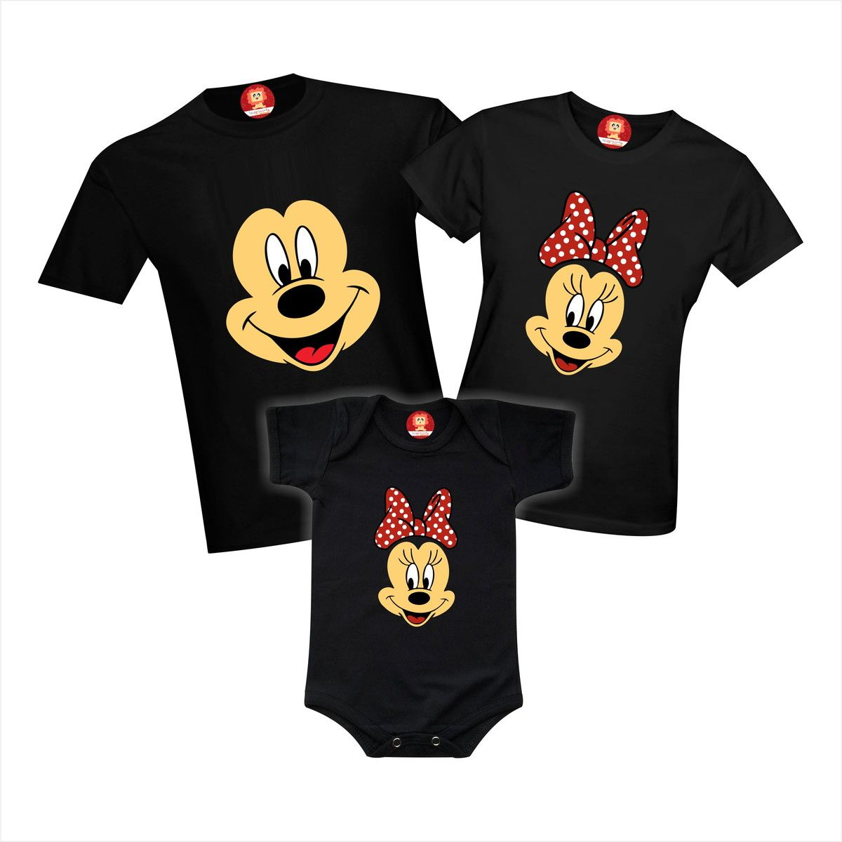 Camisetas Disney Mickey E Minnie