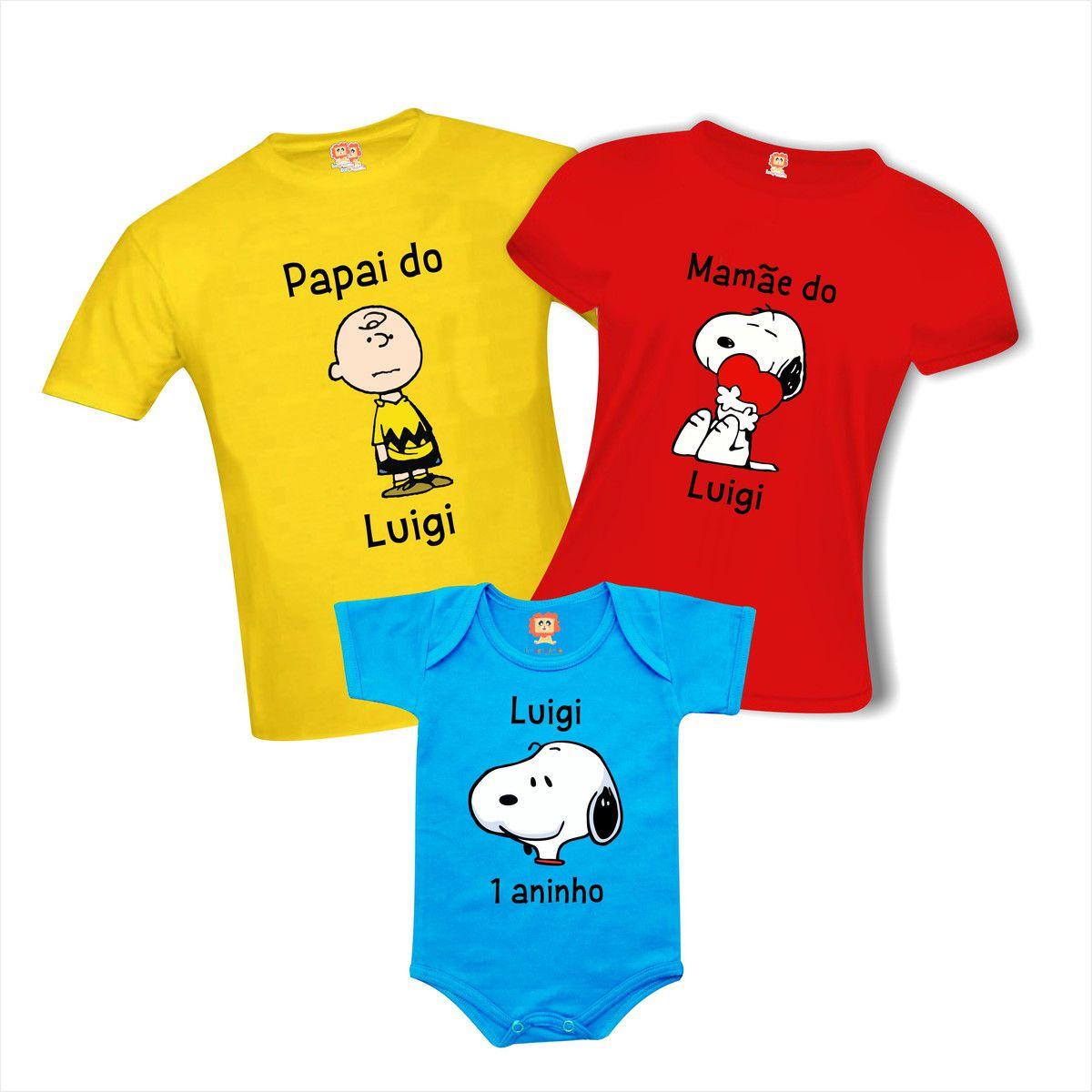 Camisetas e Roupinha de Bebê Snoopy e Charlie Brown Aniversário
